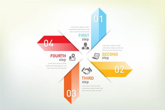 Arrow Info Graphic Option