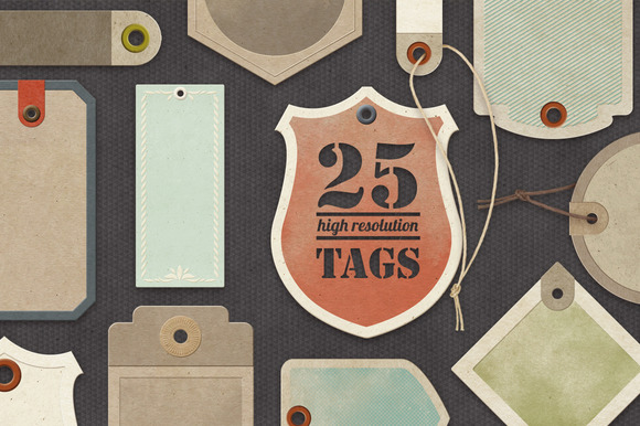 Paper Tags Collection