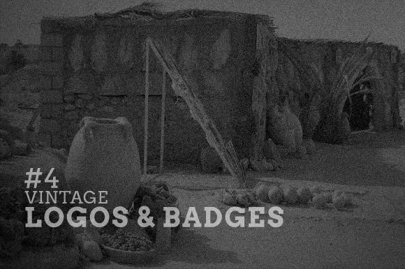 Vintage Logos Badges Collection 4