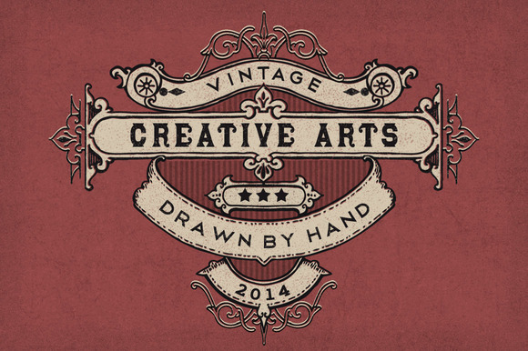 Vintage Hand Drawn Elements 2