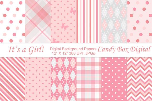 Baby girl wallpaper patterns
