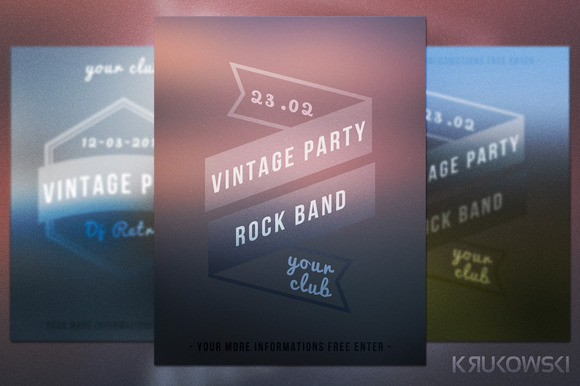 Minimalistic Flyer Template