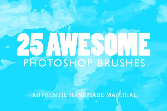 25 Awesome Photoshop Brushes