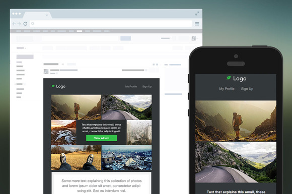 Photography Responsive Email Templat