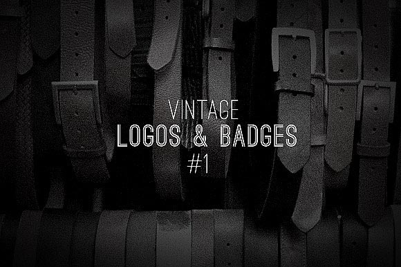 Vintage Logos Badges Collection 1
