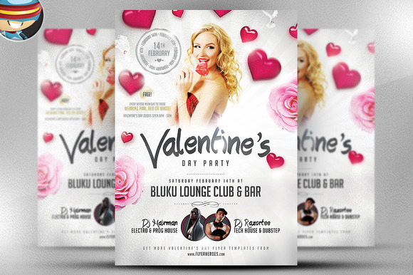 Valentine S Party Flyer