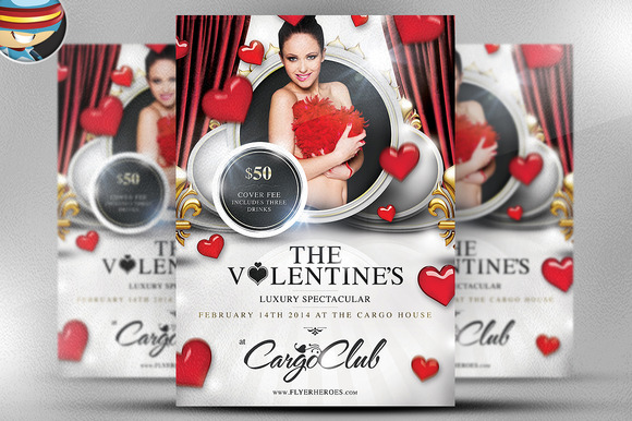 Valentine S Luxury Spectacular Flyer