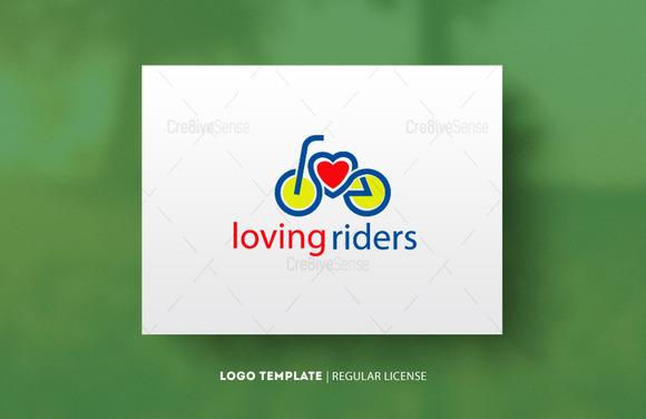 Loving Riders Logo