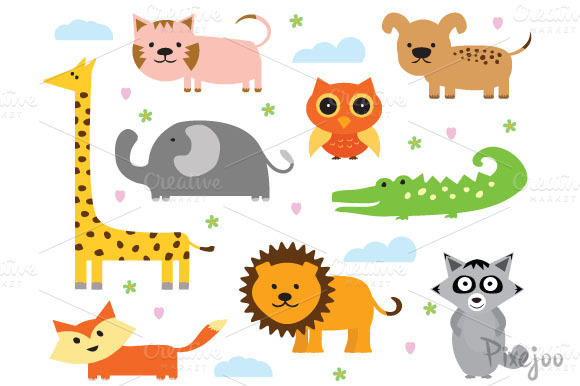 Animal Cliparts In EPS And PNG