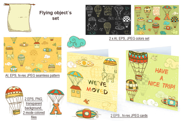 Flying Object's Set