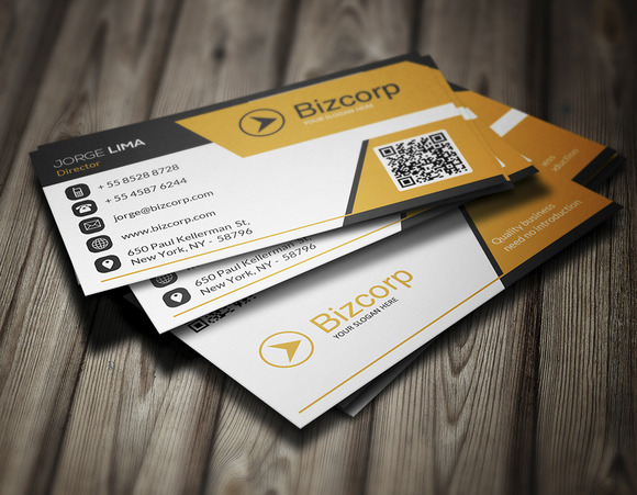 Corporate Business Card 004