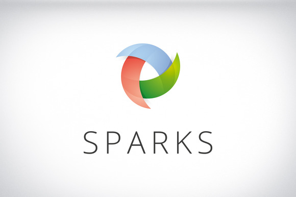 Sparks Brand Identity Design Logo