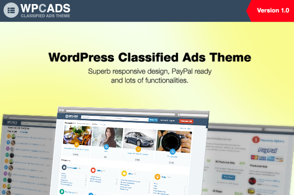 WPCADS WordPress Classified Ads