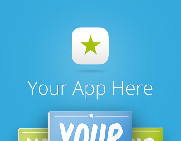 Behance App Showcase Template