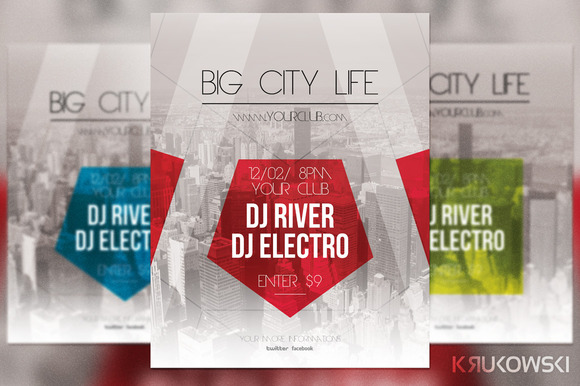 Big City Life Flyer