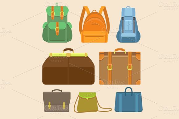 Travel Concepts In Flat Style