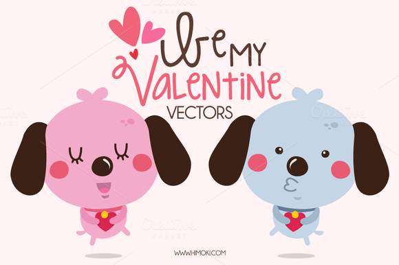 Be My Valentine Vectors