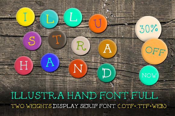 Illustra Hand Font