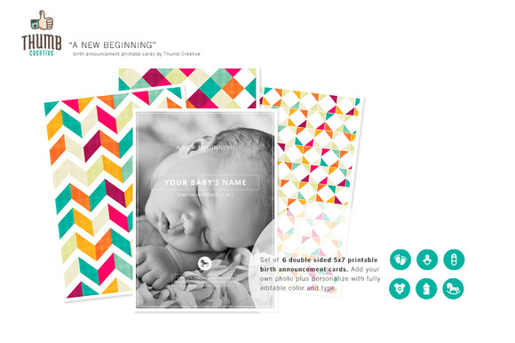 New Beginning Birth Announcements