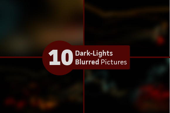 10 Dark Lights Blurred Motion Pics