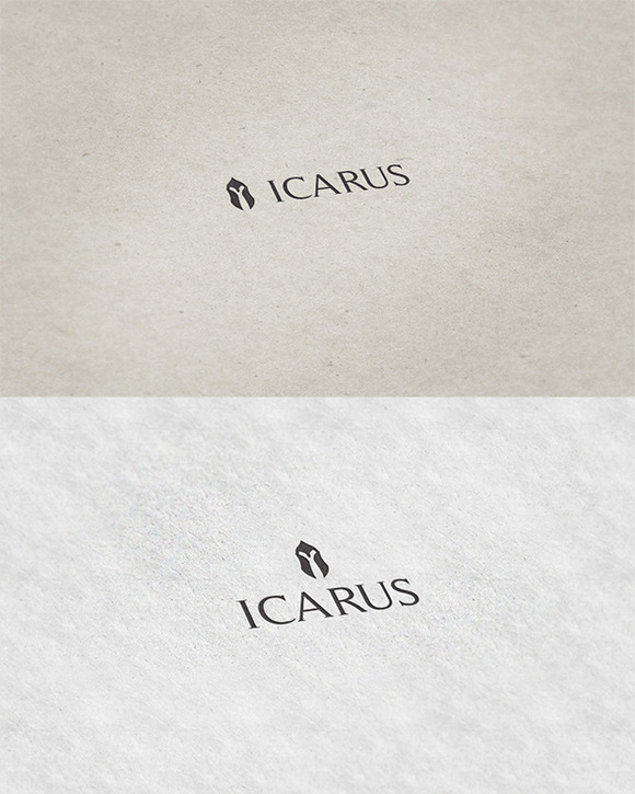 Icarus Iconic Logo Template