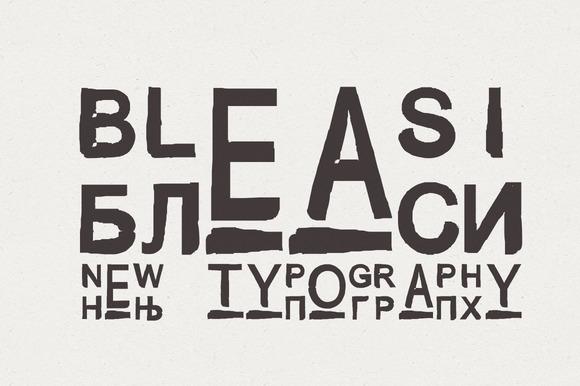 Font Bleasi