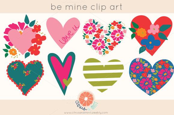 Hearts PNG Clip Art Borders