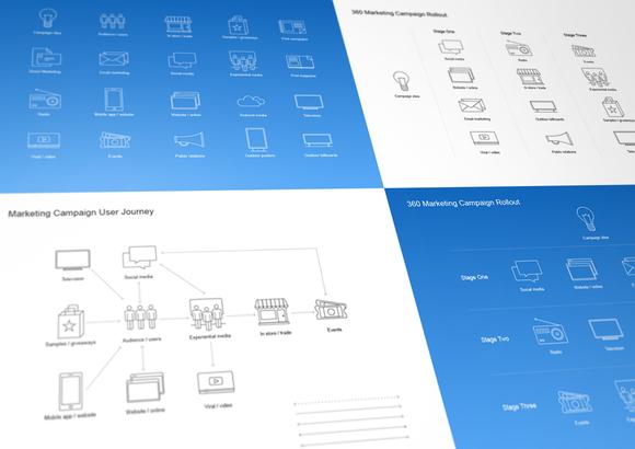 Marketing Campaign Diagram Kit