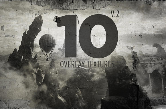 10 Overlay Textures Mock-up V.2