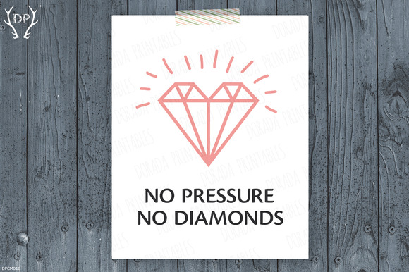 Quote Diamonds Printable Art