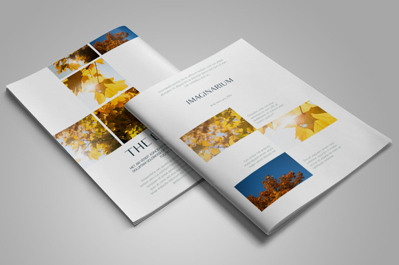Imaginarium InDesign Template
