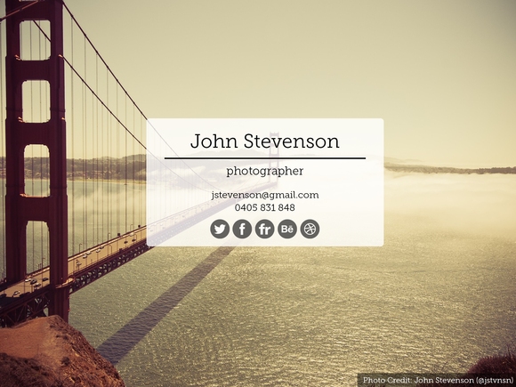 Jstvnsn Tumblr Theme