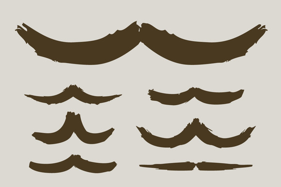 Brushed Moustache Collection