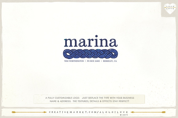 Marina A Nautical Logo