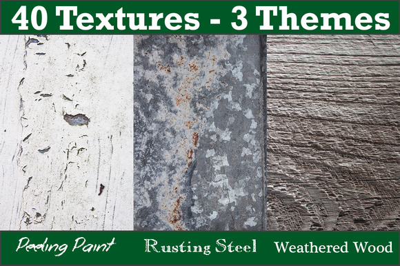 40 Textures 3 Themes Bundle