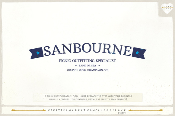 Sanbourne A Nautical Logo