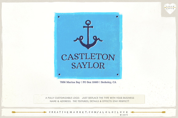 Castleton Saylor A Nautical Logo