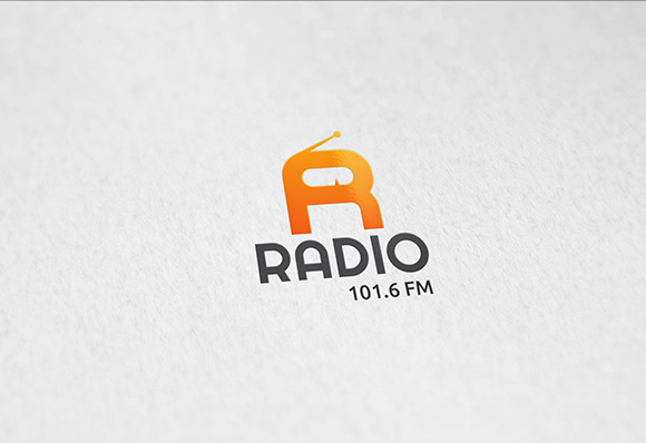 FM Radio Logo Template