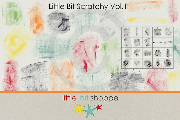 Little Bit Scratchy Vol.1