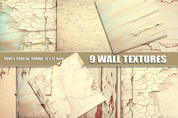 White Wall Cracks Texture Overlay