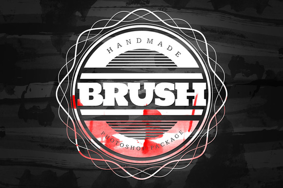 Handmade Brush Pack #1 For Photoshop