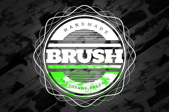 Handmade Brush Pack #3 For Photoshop