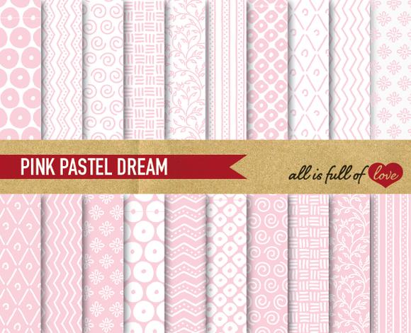 Soft Pink Background Illustrations