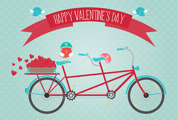 A Valentine S Day Bike Ride