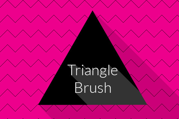 Triangle Brush Photoshop