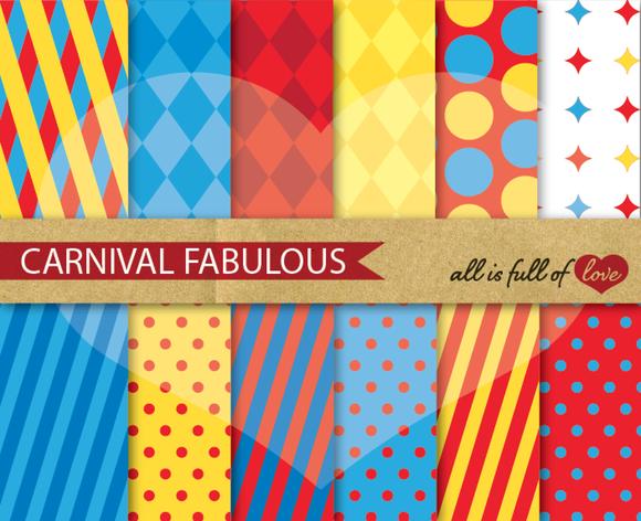 Carnival Background Patterns