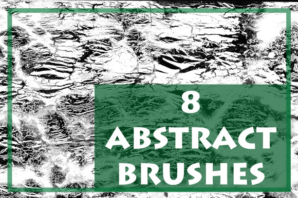 Abstract Brush Pack 8 Brushes
