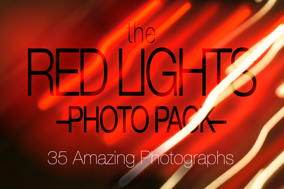 Red Lights Photo Pack