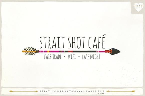 Strait Shot Arrow Series Logo