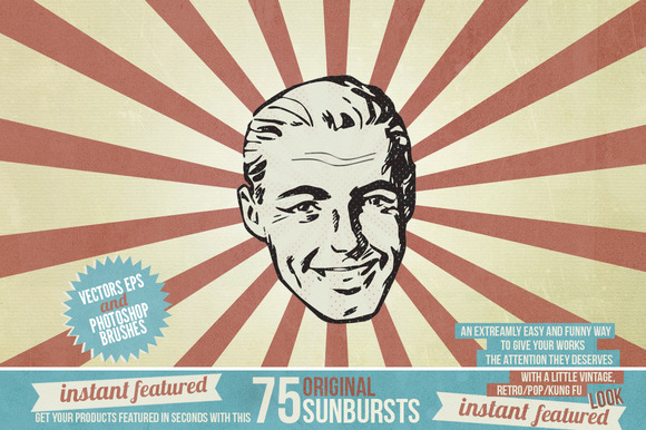 Instant Featured 75 Sunbursts